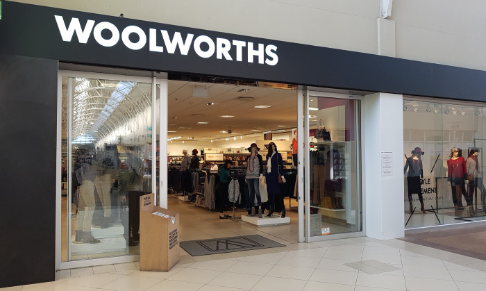 Anchor Tenant:  Woolworths