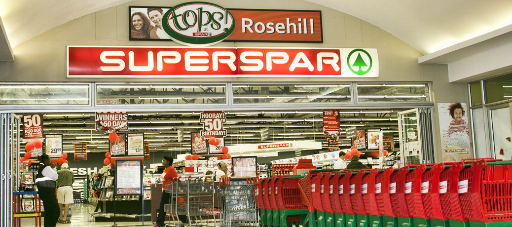 Anchor Tenant:  Superspar